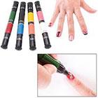 Amazon Migi Nail Art Polish Design 8 Classic Colors - Set of 4 Pen-brushes
