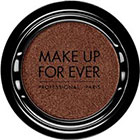 Make Up For Ever Artist Shadow Eyeshadow and powder blush in ME654 Cauldron (Metallic) eyeshadow