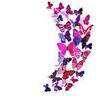 Ombeyond TEMPORARY TATTOO - Vintage Butterfly or Monarch Butterflies