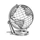 WildLifeDream Vintage globe - Temporary tattoo