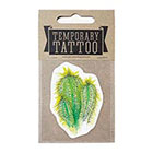 de Krantenkapper Cactus Temporary Tattoo