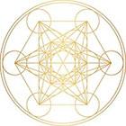 Royaltats Metatron's Cube - Set of 12 Metallic Temporary Tattoos