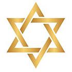 Royaltats Magen David / Star of David - Metallic Temporary Tattoo - Set of 12 Temporary Tattoos **Free Expedited Shipping **