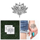 Tattify Lotus Eater - Temporary Tattoo (Set of 2)