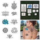 Tattify Body, Mind & Spirit - Temporary Tattoo (Set of 18)