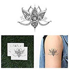 Tattify Sacred Lotus - Temporary Tattoo (Set of 2)