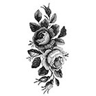 WildLifeDream Vintage roses - Temporary tattoo