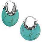 Allura Drop Earrings - Turquoise