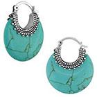 Allura Drop Earrings - Turquoise