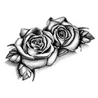 Tattoo LifeStyle Sets Roses temporary tattoos