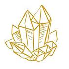 Royaltats Crystals tattoo - Metallic Temporary Tattoo, Crystals tattoo Set of 12 Temporary Tattoos **Free Expedited Shipping **