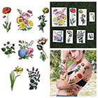 Tattify The Secret Garden - Temporary Tattoo (Set of 16)