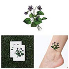 Tattify You're Turning Violet, Violet! - Temporary Tattoo (Set of 2)