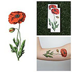 Tattify Poppy Lock and Drop It- Temporary Tattoo (Set of 2)
