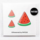 BoxingFashion Watermelon Temporary Tattoo-Quote Body Art Sticker Fake Tattoo