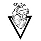 Soma Art Tattoo Custom heart Old School Temporary Tattoo - SomaArtTattoo Temporary Tattoo - wrist quote tattoo body sticker fake tattoo small tattoo