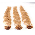 AboutHair Honey Blonde 100% Human Hair Extensions - Pre Bonded U Nail Tip Extensions