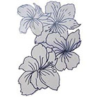 Lagoon House Large Floral Cluster Hand Drawn Temporary Tattoo
