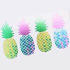 happytatts bright metallic tattoos, pineapple temporary tattoos, valentines day gift, tropical fake tattoos, pink green gold tats, happytatts