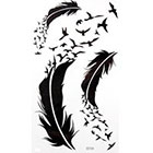 Amazon.com GGSELL GGSELL KING HORSE New design Goose and feather temporary tattoo stckers