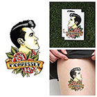Tattify Charming Man - Temporary Tattoo (Set of 2)
