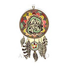 Atattood Dream Catcher Temporary Tattoo