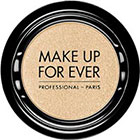 Make Up For Ever Artist Shadow Eyeshadow and powder blush in S502 White Sand (Satin) eyeshadow