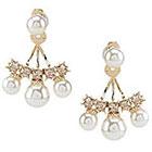 Anna & Ava Pearl Dots Ear Jacket Earrings
