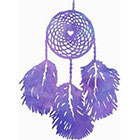 Atattood Watercolor Dream Catcher Temporary Tattoo
