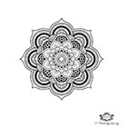 Wickedly Lovely Mandala temporary tattoo, Boho tattoo Festival tattoo, Body Art, Festival tattoos, WickedlyLovely Skin Art includes 2 tattoos