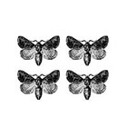 Arrow Tattoo Set of 4 Moth temporary tattoo Pattern Tattoo Temporary Tattoo wrist ankle body sticker fake tattoo