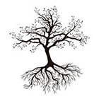 Taboo Tattoo 2 Tree of Life Temporary Tattoo, various sizes available