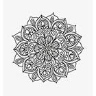 Taboo Tattoo 2 Hand Drawn Mandala Temporary Tattoo, various sizes available design 29