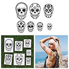 Tattify Death Wish Temporary Tattoo Pack (Set of 14)