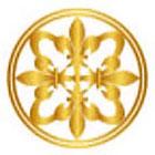 Royaltats Fleur De Lis Mandala Temporary Metallic Tattoo, Original Mandala Drawing - Set of 12 Temporary Tattoos **Free Expedited Shipping **