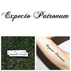 Tattify Expecto Patronum - Temporary Tattoo (Set of 2) in