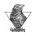 TattooWhatever Geometric Eagle Temporary Tattoo - Available in 2 sizes, black and white, large size
