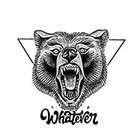 TattooWhatever Geometric Wild Bear Temporary Tattoo - Available in 2 sizes, black and white,large tattoo