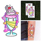 Tattify My Milkshake - Food Temporary Tattoo (Set of 2)