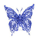 Atattood Butterfly Temporary Tattoo