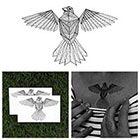 Tattify Early Bird - Animal Temporary Tattoo (Set of 2)