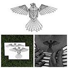 Tattify Early Bird - Animal Temporary Tattoo (Set of 2)