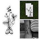 Tattify Moth to a Flame - Nature Temporary Tattoo (Set of 2) in