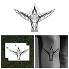 Tattify Bird's Eye View - Animal Temporary Tattoo (Set of 2)