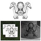 Tattify Release the Kraken - Octopus Temporary Tattoo (Set of 2)