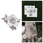 Tattify Petal to the Metal - Flower Temporary Tattoo (Set of 2)