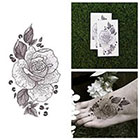 Tattify Amber Rose - Flower Temporary Tattoo (Set of 2)