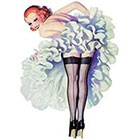 Deviant Diva Temporary Tattoo - Petticoat Slip Back Seams Pin Up Back Seams, Back Seam, Mature, Pin Up, Halloween, Dress Up