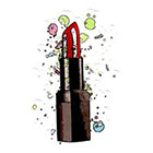 Atattood Lipstick Temporary Tattoo