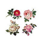 Arrow Tattoo 4 Vintage Roses temporary tattoo Pattern Tattoo Temporary Tattoo wrist ankle body sticker fake tattoo